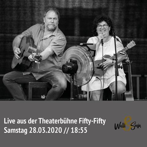 Wulli und Sonja erstes Livestreaming Konzert März 2020