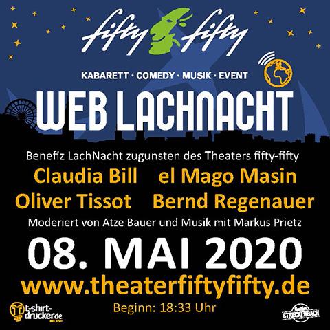 Fifty-Fifty Erlangen LachNacht Mai 2020