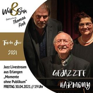 Tag des Jazz - Wulli und Sonja feat. Thomas Fink Jazzkonzert 2021.