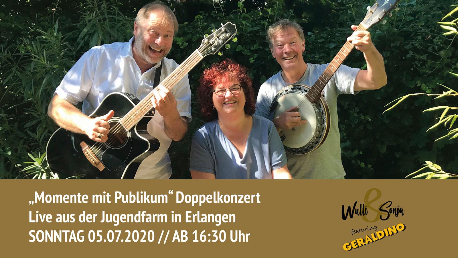 Wulli & Sonja feat. Geraldino Open-Air Konzerte Momente mit Publikum