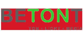 BETONT Ton Licht Media Bamberg